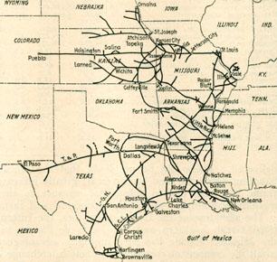 missouri pacific railroad map my blog